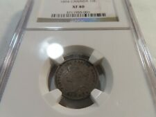 C91 Canada 1894 10 Cents NGC XF-40