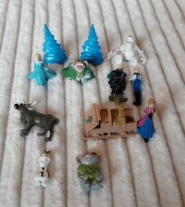 Frozen Figures Cake Toppers