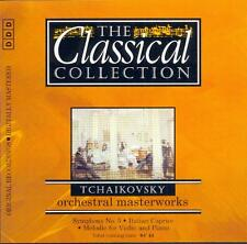 TCHAIKOVSKY - SYMPHONY NO 5 / CAPRICCIO ITALIEN / MELODY FOR VIOLIN & PIANO - CD