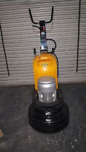 """24"""" Concrete Grinder Polisher 3 headed Concrete Planetary Variable speed."""
