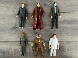 Bundle Of 6 Doctor Who BBC Collectible Action Figures Toys (Dr. Who, Matt Smith)