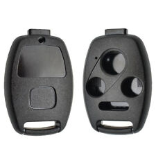 Car Remote Key Case Fob Shell For Honda Accord Civic CR-V 4 Button No Blade