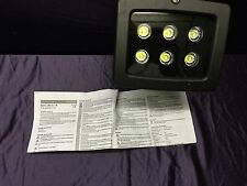 LED-Außenstrahler 6 W Neutral-Weiß L0101P Schwarz