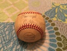 1971 CHICAGO CUBS SIGNED SPALDING BASEBALL/ERNIE BANKS,PAPPAS,HOOTON,HUNDLEY