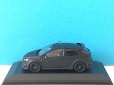 Minichamps 1:43 Ford Focus RS500 2010 Black matt Dealer Modell