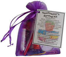Headteacher Survival Kit - Unique Christmas or End of Year Gift