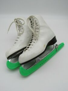 Riedell Red Wing Womens Figure Ice Skates Size 8M Sheffield Blades