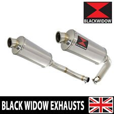 CBF 1000 2006 07 08 09 10 11 Twin Exhaust Silencers 300mm Oval Stainless 300SS