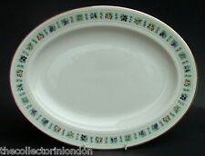 "Royal Doulton Tapestry TC1024 Pattern Lg Size 16"" Oval Serving Platter 40cm VGC"
