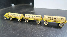 Tootsietoy Tootsie Toy Mack 3 Piece Dairy Delivery Truck