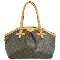 Louis Vuitton Tivoli GM M40144 Monogram Shoulder Satchel Hand Tote Bag Purse LV