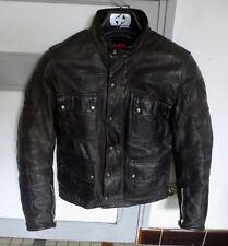 Dainese Maverick  Leather Jacket Black
