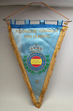RARE Antique SPAIN SPANISH OLYMPIC SHOOTING FEDERATION