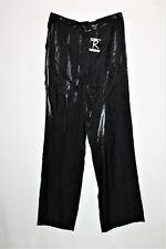 ROCKMANS Brand Black Shimmery High Waist Dress Pants Size 10 BNWT #SA07