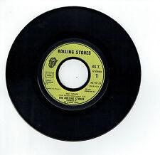 "The ROLLING STONES Vinyl 45T 7"" HOT STUFF -HAND OF FATE -WEA 19123 F Reduit RARE"