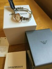 EMPORIO ARMANI LADIES WATCH BNWT AND CERTIFICATE