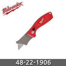Milwaukee 48-22-1906 FASTBACK Compact Flip Utility Knife Outdoor Camping Work
