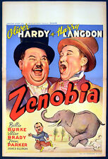 ZENOBIA 1939 Oliver Hardy, Harry Langdon, Billie Burke BELGIAN POSTER