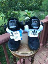 US Size 5.5 Adidas Originals Jeremy Scott JS GORILLA BLACK MONKEY V24424 OBYO