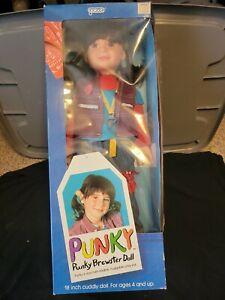 """Vintage NIB 1984 Punky Brewster 18"""" Doll in Box-Galoob"""