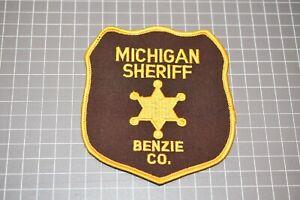 Benzie County Michigan Sheriff Patch (US-Pol)