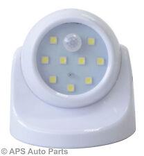9 SMD LED luz del sensor de movimiento inalámbrico pasillos Galpones armarios rotación de 360 °