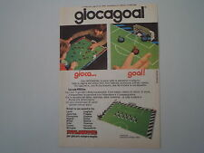 advertising Pubblicità 1974 ATLANTIC GIOCAGOAL GIOCA GOAL