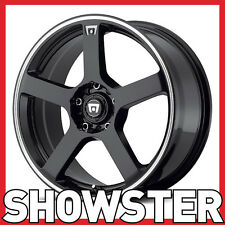 "16x7 16"" 5x112 5x114.3 MR116 Motegi Racing Tuner wheels lightweight"