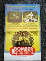 Original Kinoposter A3 : Bomber & Paganini ( Mario Adorf )