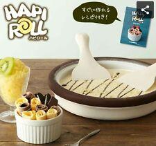 Doshisya Ice Cream Sherbet Maker Hapi Roll DHRL-17BR,  Make it at home,  Japan