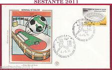 ITALIA FDC FILAGRANO GOLD CAMPIONATO CALCIO SERIE A 1991 - 92 BARI T995a