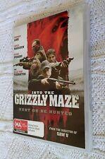 GRIZZLY MAZE – DVD, REGION-4, LIKE NEW, FREE POST WITHIN AUSTRALIA