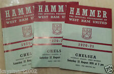 1970/71 Football League- WEST HAM UNITED v CHELSEA - 17th August