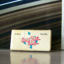 Rare Vintage Matchbook L2 Collectible Advertisement Dallas Austin Texas Lonestar