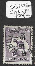 AUSTRALIA (P2811B) ROO 9D  SG 10  SON  CDS  VFU