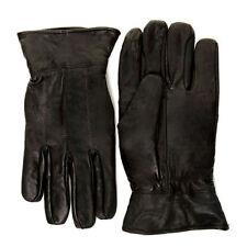 Gants et moufles noirs en cuir pour homme taille XL