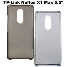Custodia FLEXY cover protettiva TPU case flessibile pr TP-Link Neffos X1 Max 5.5