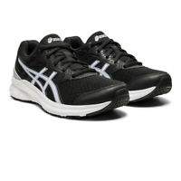 Asics Womens Jolt 3 Running Shoes Trainers Sneakers Black Sports Breathable