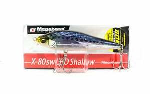 Megabass X-80 SW LBO Shallow Sinking Lure GG Iwashi (9864)