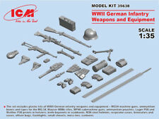 ICM 1/35 WWII German Infantry Weapons & Equipment # 35638