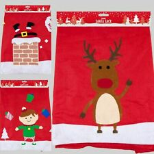 Giant Red Christmas Santa Sack Extra Large Xmas Gift Present Bag Elf, Reindeer