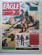 Eagle and boy's world Vol 1966 Vol 17 # 16 Mine detector  Heros spartan Dan Dare