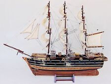 "Napoleon 32"" wooden ship model French sailing tall boat"