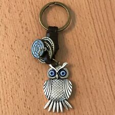 key ring owl handbag accessory key fob metal ideal gift UK seller