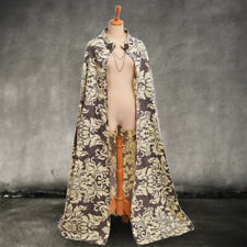 Vintage Medieval Renaissance Theater Reenactment Costume Cloak Court Style Cape