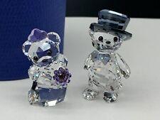 Swarovski Figurine 1096736 Crystal Bear Wedding 5 Cm. New Product