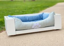 NEW Dog Bed medium wood frame! Painted white, MADE TO SELL!