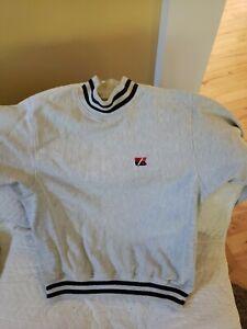 CUTTER & BUCK CB Logo gray medium sweatshirt