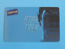 STAR TREK LENTICULAR GIFT CARD - BLOCKBUSTER SPOK ZACHARY QUINTO -NO VALUE-