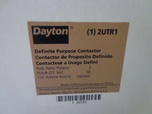 Dayton 2UTR1 Definite Purpose Contactor 3 Pole 240VAC